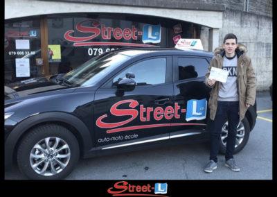 Permis réussi Street-L auto école permis de conduire école de conduite Riddes Valais chablais valaisan vaudois Antonino Vadalà photo.003
