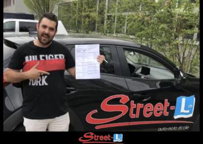 Permis réussi Street-L auto école permis de conduire école de conduite Riddes Valais chablais valaisan vaudois Antonino Vadalà photo.008