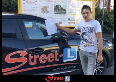 Permis réussi Street-L auto école permis de conduire école de conduite Riddes Valais chablais valaisan vaudois Antonino Vadalà photo.012