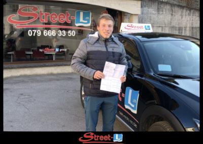Permis réussi Street-L auto école permis de conduire école de conduite Riddes Valais chablais valaisan vaudois Antonino Vadalà photo.018