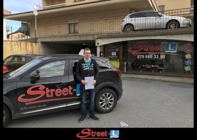 Permis réussi Street-L auto école permis de conduire école de conduite Riddes Valais chablais valaisan vaudois Antonino Vadalà photo.021