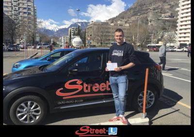 Permis réussi Street-L auto école permis de conduire école de conduite Riddes Valais chablais valaisan vaudois Antonino Vadalà photo.024
