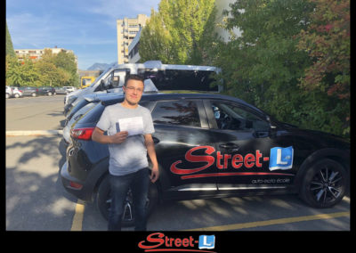 Permis réussi Street-L auto école permis de conduire école de conduite Riddes Valais chablais valaisan vaudois Antonino Vadalà photo.040