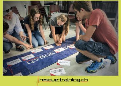 Rescue-training école de secourisme idem samaritains sauveteur permis de conduire entreprises BLS AED petite enfance Valais Lucien Cottier Street-L auto-école Riddes.001