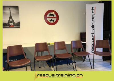 Rescue-training école de secourisme idem samaritains sauveteur permis de conduire entreprises BLS AED petite enfance Valais Lucien Cottier Street-L auto-école Riddes.024