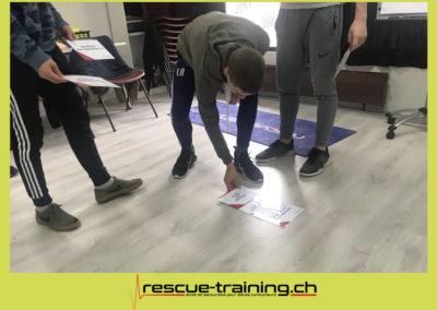 Rescue-training école de secourisme idem samaritains sauveteur permis de conduire entreprises BLS AED petite enfance Valais Lucien Cottier Street-L auto-école Riddes.044