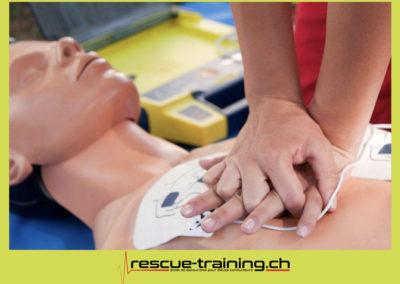Rescue-training école de secourisme idem samaritains sauveteur permis de conduire entreprises BLS AED petite enfance Valais Lucien Cottier Street-L auto-école Riddes.048