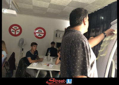 Sensibilisation Street-L auto école permis de conduire école de conduite Riddes Valais chablais valaisan vaudois Antonino Vadalà photo.014