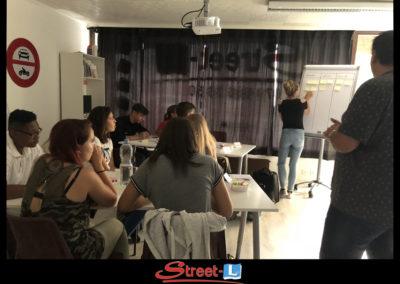 Sensibilisation Street-L auto école permis de conduire école de conduite Riddes Valais chablais valaisan vaudois Antonino Vadalà photo.018