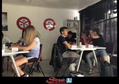 Sensibilisation Street-L auto école permis de conduire école de conduite Riddes Valais chablais valaisan vaudois Antonino Vadalà photo.022