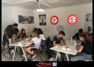 Sensibilisation Street-L auto école permis de conduire école de conduite Riddes Valais chablais valaisan vaudois Antonino Vadalà photo.049