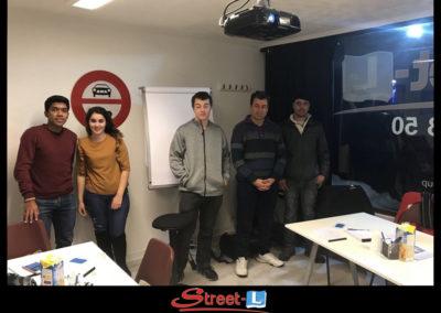 Sensibilisation Street-L auto école permis de conduire école de conduite Riddes Valais chablais valaisan vaudois Antonino Vadalà photo.103