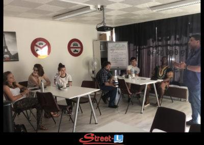 Sensibilisation Street-L auto école permis de conduire école de conduite Riddes Valais chablais valaisan vaudois Antonino Vadalà photo.107