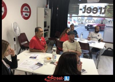 Sensibilisation Street-L auto école permis de conduire école de conduite Riddes Valais chablais valaisan vaudois Antonino Vadalà photo.113