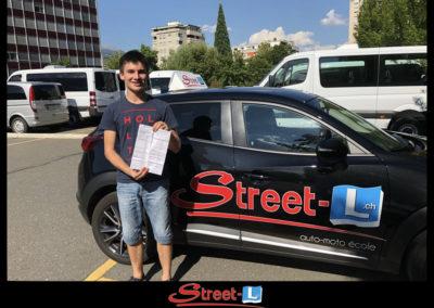 Permis réussi Street-L auto école permis de conduire école de conduite Riddes Valais chablais valaisan vaudois Antonino Vadalà photo.035