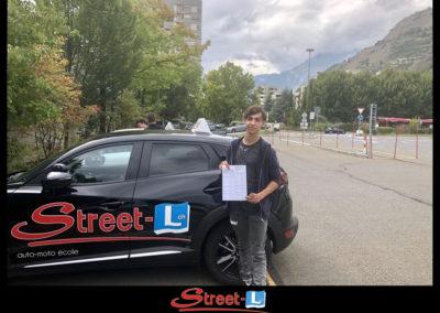 Permis réussi Street-L auto école permis de conduire école de conduite Riddes Valais chablais valaisan vaudois Antonino Vadalà photo.036
