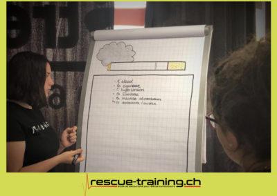 Rescue-training école de secourisme idem samaritains sauveteur permis de conduire entreprises BLS AED petite enfance Valais Lucien Cottier Street-L auto-école Riddes.022