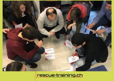 Rescue-training école de secourisme idem samaritains sauveteur permis de conduire entreprises BLS AED petite enfance Valais Lucien Cottier Street-L auto-école Riddes.054