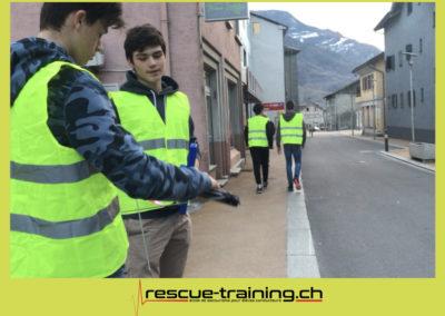 Rescue-training école de secourisme idem samaritains sauveteur permis de conduire entreprises BLS AED petite enfance Valais Lucien Cottier Street-L auto-école Riddes.060