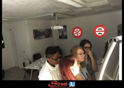 Sensibilisation Street-L auto école permis de conduire école de conduite Riddes Valais chablais valaisan vaudois Antonino Vadalà photo.003