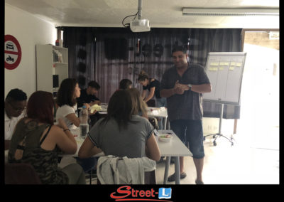 Sensibilisation Street-L auto école permis de conduire école de conduite Riddes Valais chablais valaisan vaudois Antonino Vadalà photo.019
