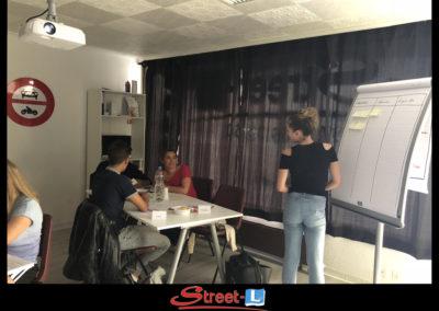 Sensibilisation Street-L auto école permis de conduire école de conduite Riddes Valais chablais valaisan vaudois Antonino Vadalà photo.037