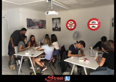 Sensibilisation Street-L auto école permis de conduire école de conduite Riddes Valais chablais valaisan vaudois Antonino Vadalà photo.044