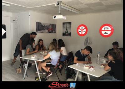 Sensibilisation Street-L auto école permis de conduire école de conduite Riddes Valais chablais valaisan vaudois Antonino Vadalà photo.046