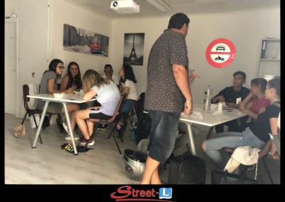 Sensibilisation Street-L auto école permis de conduire école de conduite Riddes Valais chablais valaisan vaudois Antonino Vadalà photo.056