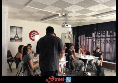 Sensibilisation Street-L auto école permis de conduire école de conduite Riddes Valais chablais valaisan vaudois Antonino Vadalà photo.063