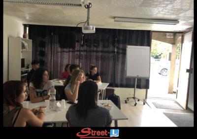 Sensibilisation Street-L auto école permis de conduire école de conduite Riddes Valais chablais valaisan vaudois Antonino Vadalà photo.064
