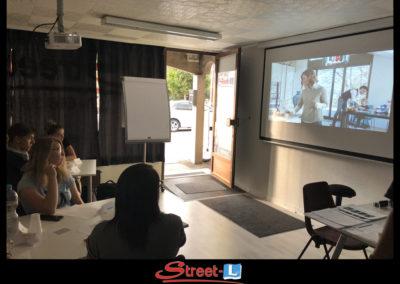 Sensibilisation Street-L auto école permis de conduire école de conduite Riddes Valais chablais valaisan vaudois Antonino Vadalà photo.065