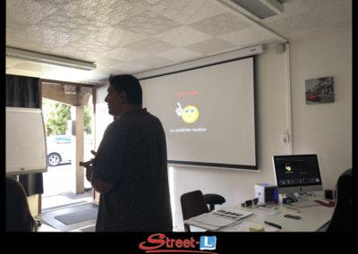 Sensibilisation Street-L auto école permis de conduire école de conduite Riddes Valais chablais valaisan vaudois Antonino Vadalà photo.066