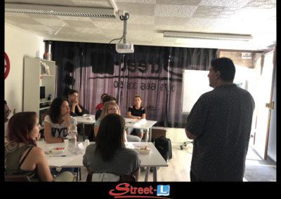 Sensibilisation Street-L auto école permis de conduire école de conduite Riddes Valais chablais valaisan vaudois Antonino Vadalà photo.068