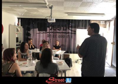 Sensibilisation Street-L auto école permis de conduire école de conduite Riddes Valais chablais valaisan vaudois Antonino Vadalà photo.070