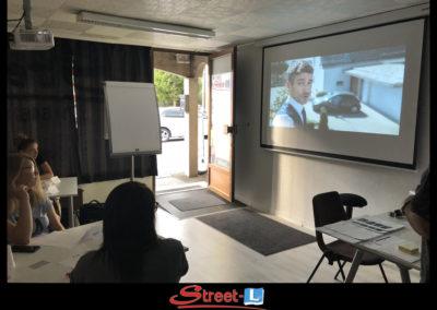 Sensibilisation Street-L auto école permis de conduire école de conduite Riddes Valais chablais valaisan vaudois Antonino Vadalà photo.072