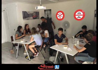 Sensibilisation Street-L auto école permis de conduire école de conduite Riddes Valais chablais valaisan vaudois Antonino Vadalà photo.074