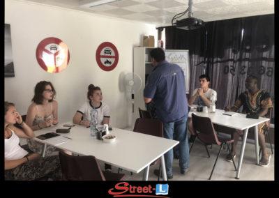 Sensibilisation Street-L auto école permis de conduire école de conduite Riddes Valais chablais valaisan vaudois Antonino Vadalà photo.094
