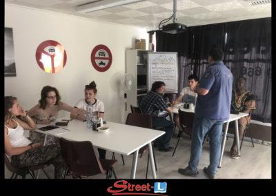 Sensibilisation Street-L auto école permis de conduire école de conduite Riddes Valais chablais valaisan vaudois Antonino Vadalà photo.095