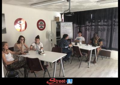Sensibilisation Street-L auto école permis de conduire école de conduite Riddes Valais chablais valaisan vaudois Antonino Vadalà photo.096