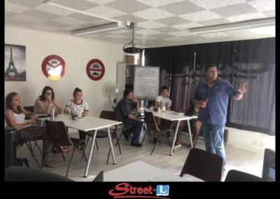 Sensibilisation Street-L auto école permis de conduire école de conduite Riddes Valais chablais valaisan vaudois Antonino Vadalà photo.097