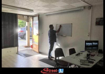 Sensibilisation Street-L auto école permis de conduire école de conduite Riddes Valais chablais valaisan vaudois Antonino Vadalà photo.098