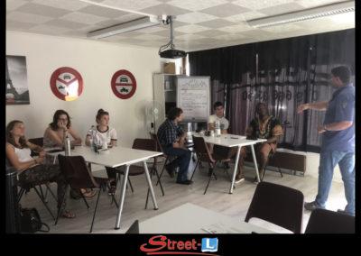 Sensibilisation Street-L auto école permis de conduire école de conduite Riddes Valais chablais valaisan vaudois Antonino Vadalà photo.106