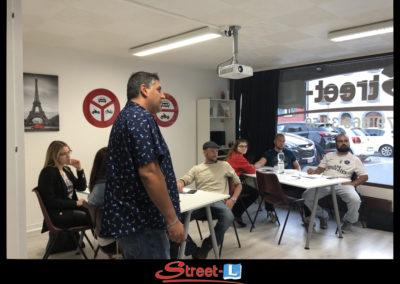 Sensibilisation Street-L auto école permis de conduire école de conduite Riddes Valais chablais valaisan vaudois Antonino Vadalà photo.112