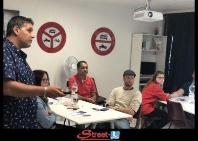 Sensibilisation Street-L auto école permis de conduire école de conduite Riddes Valais chablais valaisan vaudois Antonino Vadalà photo.118