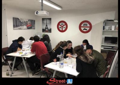 Sensibilisation Street-L auto école permis de conduire école de conduite Riddes Valais chablais valaisan vaudois Antonino Vadalà photo.138
